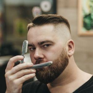 straight beard